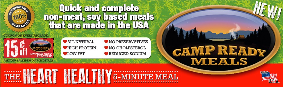 5ive Star Camp Ready Meals